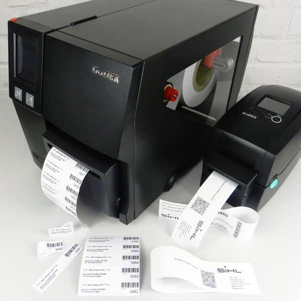 PRESSURE TAC Etiketten und GoDEX-Drucker bieten praktische Komplettlösungen