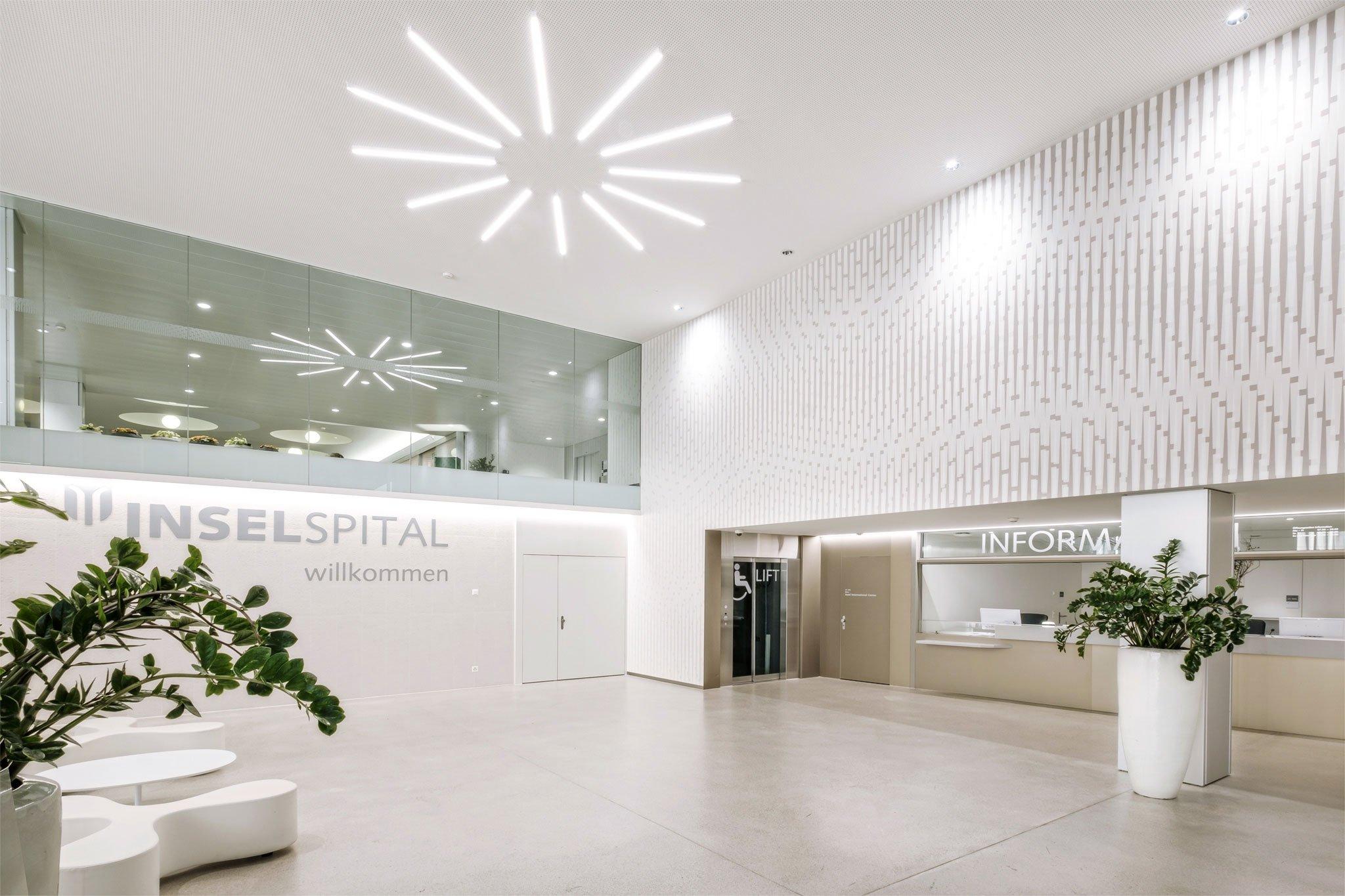 Mit innovativer Wandgestaltung eine neue Spitalstimmung schaffen