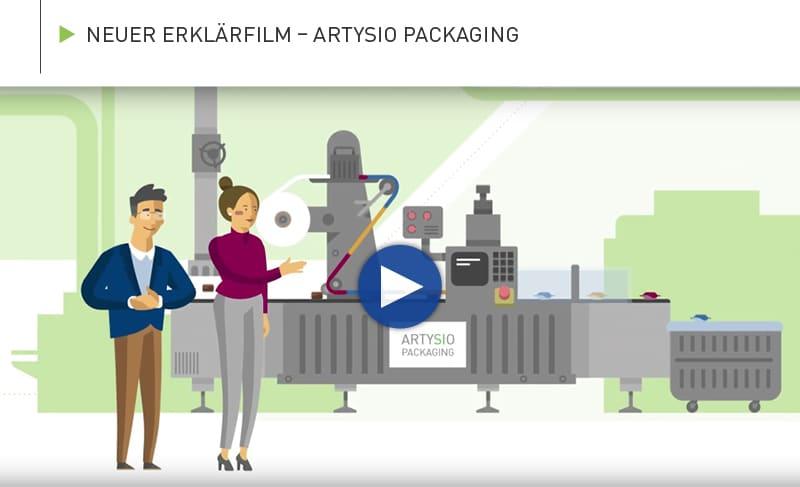Neuer Erklärfilm – ARTYSIO Packaging