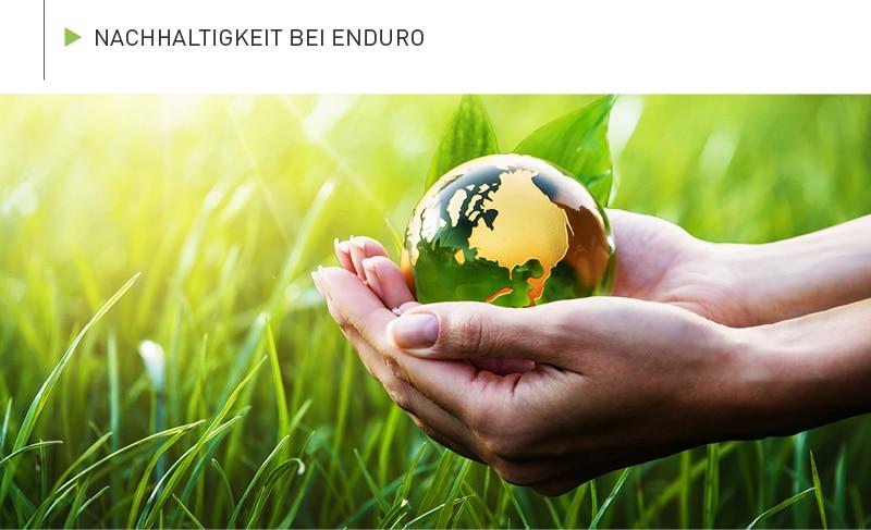 Nachhaltigkeit bei Enduro